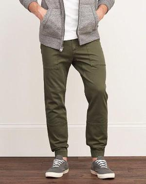 Abercrombie & Fitch Pantalon Jogger Cargo Chino Directo Usa