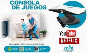 Convierte Tu Tv En Smart Android Con La Consola De Juego Fhd