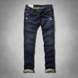 Jeans Ajustado Abercrombie And Fitch Eeuu Talla: 33 Y 36
