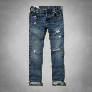 Jeans Ajustado Abercrombie And Fitch Importado De Usa