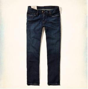 Jeans Recto Clásico Hollister By Abercrombie Talla 36
