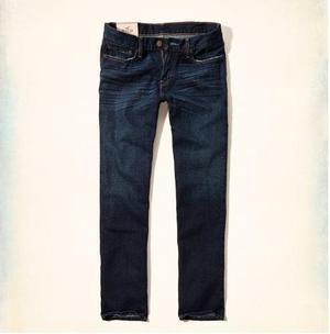 Jeans Recto Clásico Hollister Importado De Eeuu Talla:36