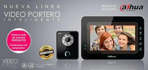 KIT VIDEOPORTERO IP 1MP HD 720P INCLUYE PORTERO Y MONITOR