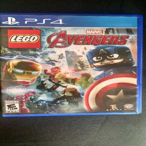 Lego Avengers Ps4 Usado, Muy Buen Estado