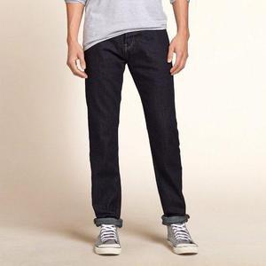 Pantalón Jeans Hollister Skinny Original Talla 31 X 30