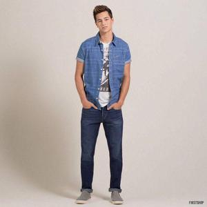Pantalón Jeans Hollister Skinny Original Talla:32 X 32