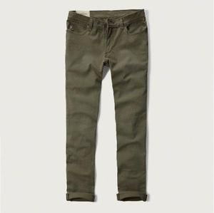 Pantalon Abercrombie And Fitch Chinos Ajustados Talla 30