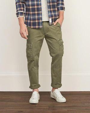 Pantalon Cargo Abercrombie Clasico Hombre Importado De Eeuu