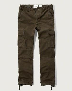 Pantalon Cargo Chinos Abercrombie Hombre Importado De Eeuu