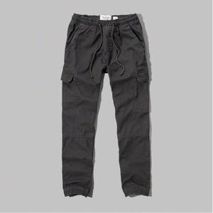 Pantalon Gris Cargo Jogger Abercrombie Importado De Eeuu