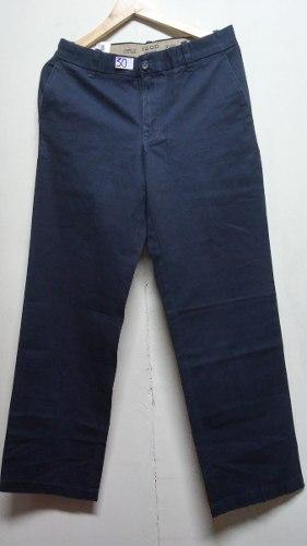 Pantalon Izod Pvaron Nuevo Talla 30 Straigh Fit Dril Azul