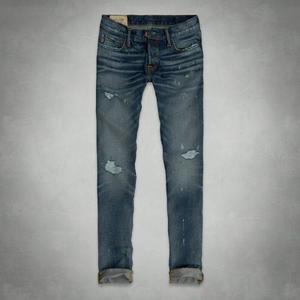 Pantalon Jean Abercrombie Destroyed Importado Usa Talla:32