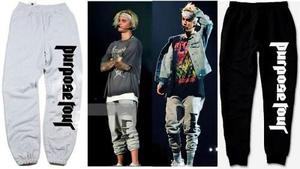 Pantalon Justin Bieber Purpose Tour Alternativo Ropa Unisex