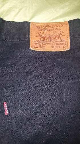 Pantalon Levis Negro, Talla 32 Importado Japon Hombre
