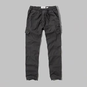 Pantalon Pitillo Abercrombie Cargo Jogging Importado Eeuu