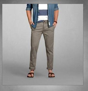 Pantalones Abercrombie & Fitch Skinny Chinos Tallas: 32