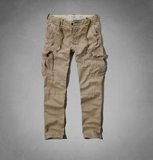 Pantalones Cargo Chinos Abercrombie & Fitch Importado De Usa