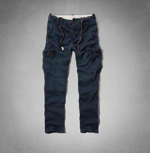 Pantalones Cargo Chinos Abercrombie Hollister Importado Eeuu