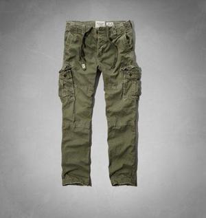 Pantalones Cargo Chinos Abercrombie Hollister Importado Usa