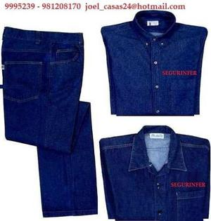Ropa Jeans Antiflam. Arco Electrico Norma Nfpa70e Nfpa 2112