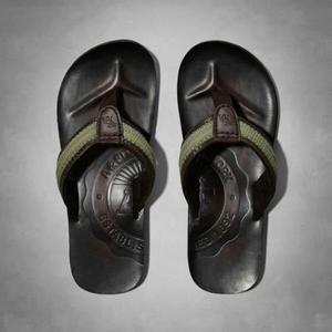 Sandalias De Cuero Abercrombie And Fitch Importados De Usa