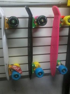 Skate Modelo Penny Marca Gravital Con Llantasde Colores