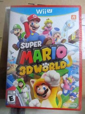 Super Mario 3d World Juego Wiiu Nuevo Wii Nintendo Original