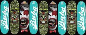 Tablas De Skate Buba Skateboards Maple Canadiense