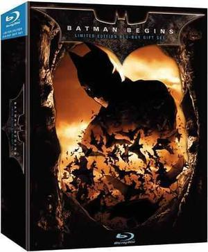 Batman Begin Limited Edition Blu - Ray Original Nuevo Amazin