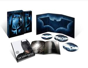 Batman Blu Ray- The Dark Knight Trilogy 2016 Edic.coleccion
