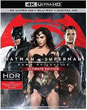 Batman Vs Superman 4k- Blu Ray 2d Ultima Edic.diciembre 2016