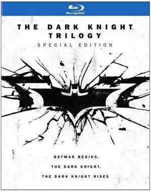 Blu Ray Batman The Dark Knight Trilogía - Stock - Nuevo