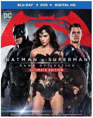 Blu Ray Batman V Superman Ultimate Edition - Stock - Nuevo