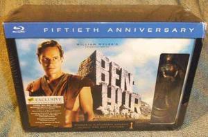 Blu Ray Ben Hur Edición Limitada - Stock - Nuevo - Sellado
