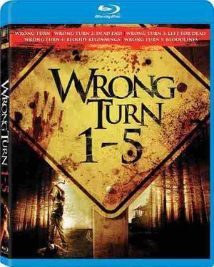 Blu Ray Camino Hacia El Terror 1-2-3-4-5 - Stock - Nuevo