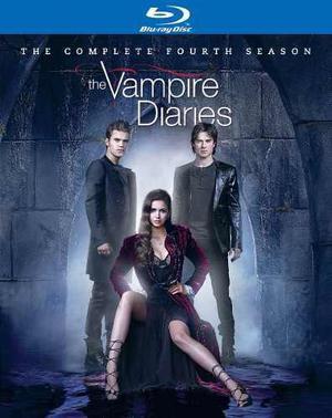 Blu Ray Diario De Vampiros: 4ta. Temporada - Stock - Nuevo