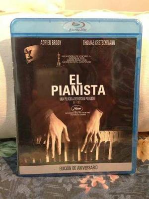Blu Ray El Pianista - Stock - Nuevo - Sellado - México