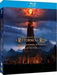 Blu Ray El Retorno Del Rey Edicion Extendida 5 Discos