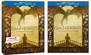 Blu Ray Game Of Thrones: 5ta. Temporada - Stock - Sellado