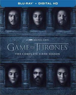 Blu Ray Game Of Thrones: 6ta. Temporada - Stock - Sellado