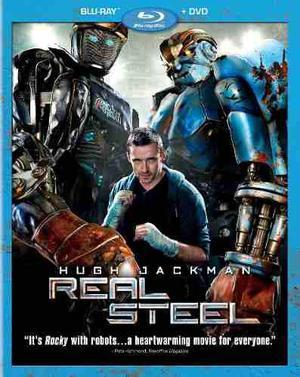 Blu Ray Gigantes De Acero - Stock - Nuevo - Sellado - U.s.a.