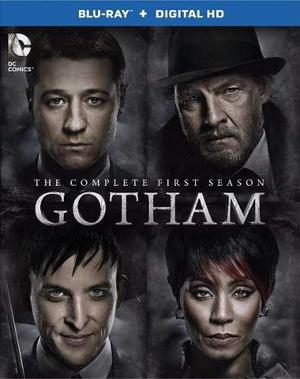 Blu Ray Gotham: 1ra. Temporada - Stock - Nuevo - Sellado