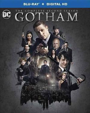 Blu Ray Gotham: 2da. Temporada - Stock - Nuevo - Sellado