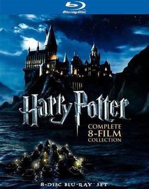 Blu Ray Harry Potter La Colección Completa - Stock -