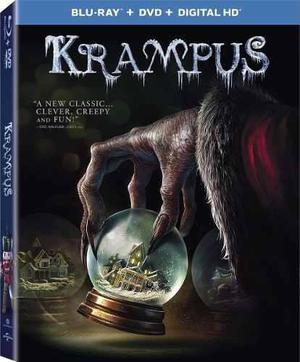 Blu Ray Krampus: El Terror De La Navidad - Stock - Nuevo