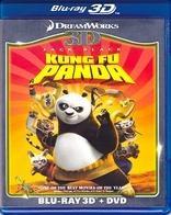 Blu Ray Kung Fu Panda 3d - Stock - Nuevo - Sellado -u.s.a