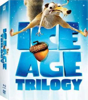 Blu Ray La Era De Hielo Trilogía - Stock - Nuevo - Sellado
