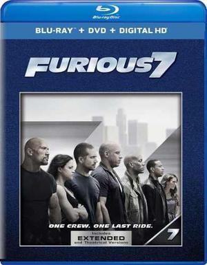 Blu Ray Rápidos Y Furiosos 7 - Stock - Nuevo - Sellado