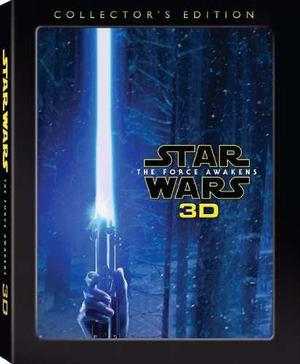 Blu Ray Star Wars: El Despertar De La Fuerza 3d - 2d - Stock