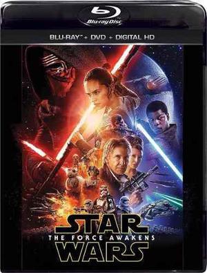 Blu Ray Star Wars: El Despertar De La Fuerza - Stock - Nuevo
